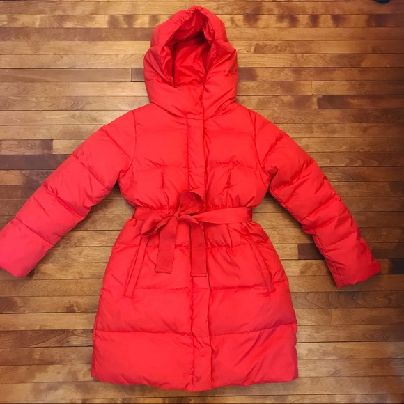 a5688fac4f3f1 Crewcuts Other - Crewcuts girls long puffer coat with front tie